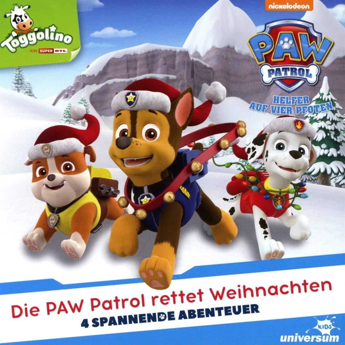 Die Paw Patrol Rettet Weihnachten (CD) - Paw Patrol - Helfer auf ...
