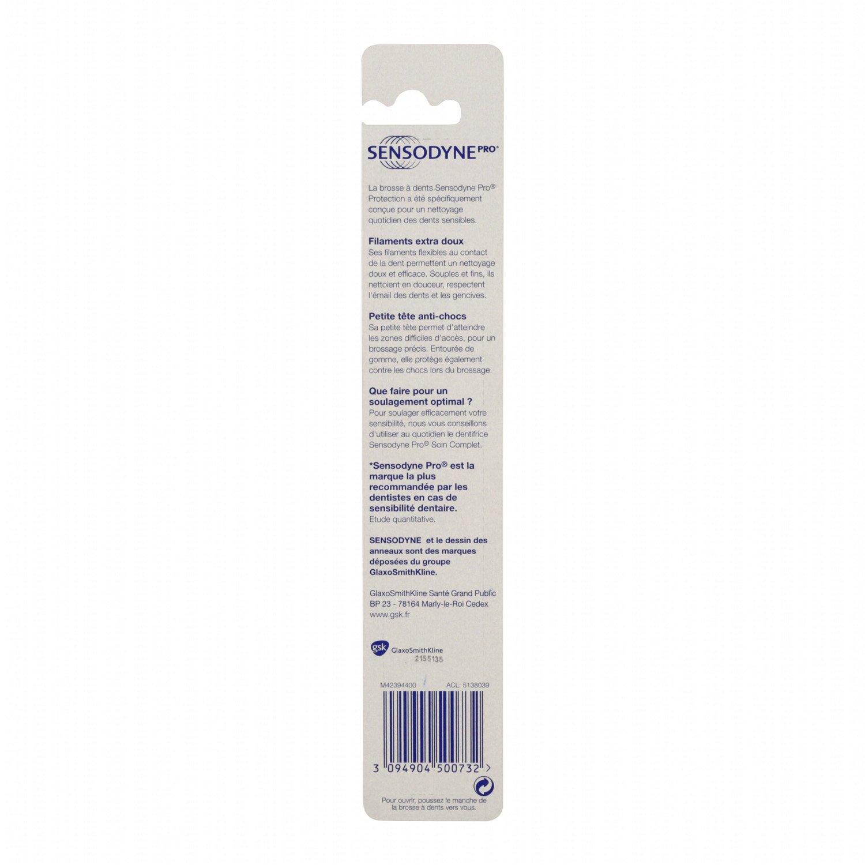 SENSODYNE SENSODYNE-Cepillo de dientes Extra suave (x1) Pro esmaltada: Amazon.es: Belleza