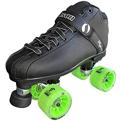 Atom Roller Rave Derby Package (Green) : Sports & Outdoors