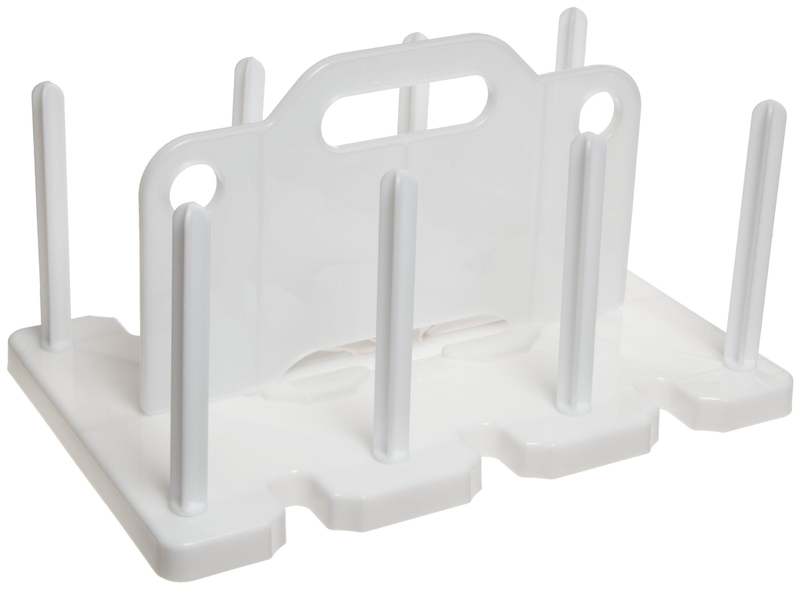 Bel-Art 100mm Petri Dish Rack; 42 Places, Plastic (F18991-0000) by SP Scienceware