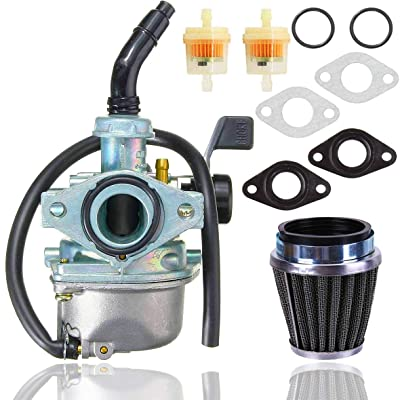 PZ19 Carburetor+ 35mm Air Filter for Taotao 50cc 70cc 90cc 110cc 125cc Dirt Bike ATV Scooter Moped,ATV Dirt Pit Bike Taotao Honda CRF: Automotive