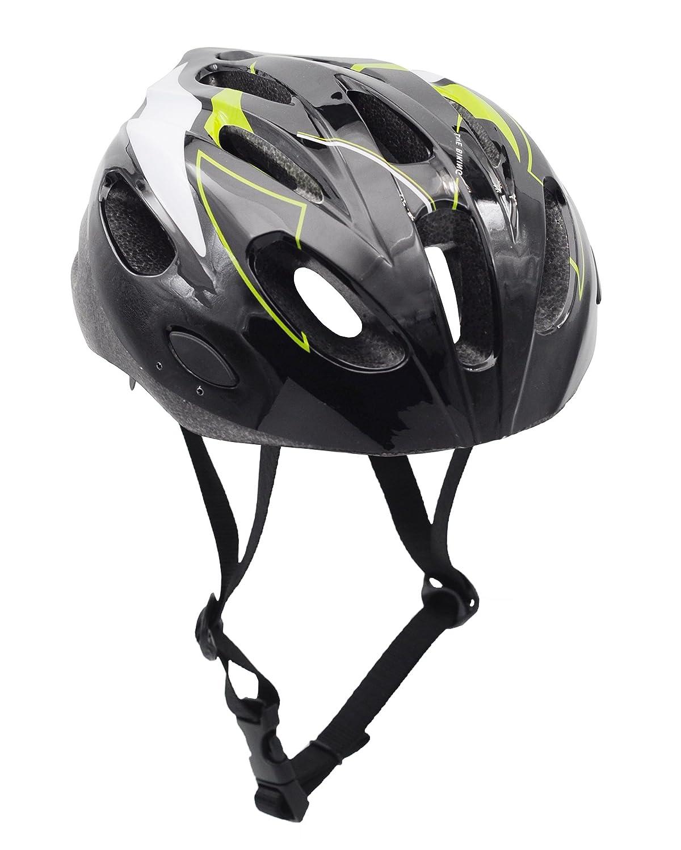 Bebefun Sicherheit Verstellbare Größe Kinder Babys Bike multi-sports Helm für Jungen, 3–7 Jahre alt Lightning Thema mit entfernen Visier.