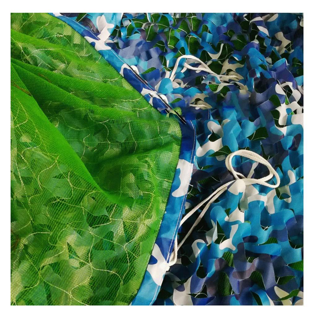 SJMWZW Jungle Camouflage Net Wüste Tarnnetz Sonnenschutz Verdicken Dreischicht-Tarnnetz Geeignet für Camping Jagd Sonnenschirm schießen Sonnenschutz Tarnnetz Camouflage Party Dekoration Halloween Weihnachten 3a4217