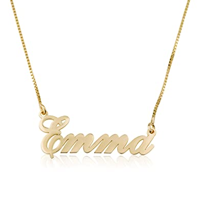 Name Necklace 15 Fonts Style to Choose Customize Your Name Necklace  Personalized Name Jewelry