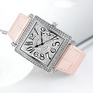 GAOY Para Hombre Reloj De Pulsera Mujer Diamante Reloj Cuadrado Tendencia Reloj Mujer Reloj Reloj De