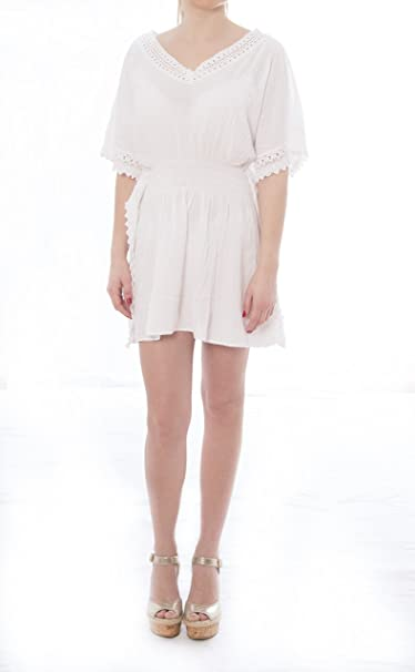 Tumi Moda Bali, Blusa para Mujer, Blanco (Blanco 001), Large (