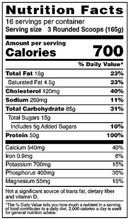 Amazon.com: Suplemento dietario True Mass BSN., 31185, 1, 1 ...