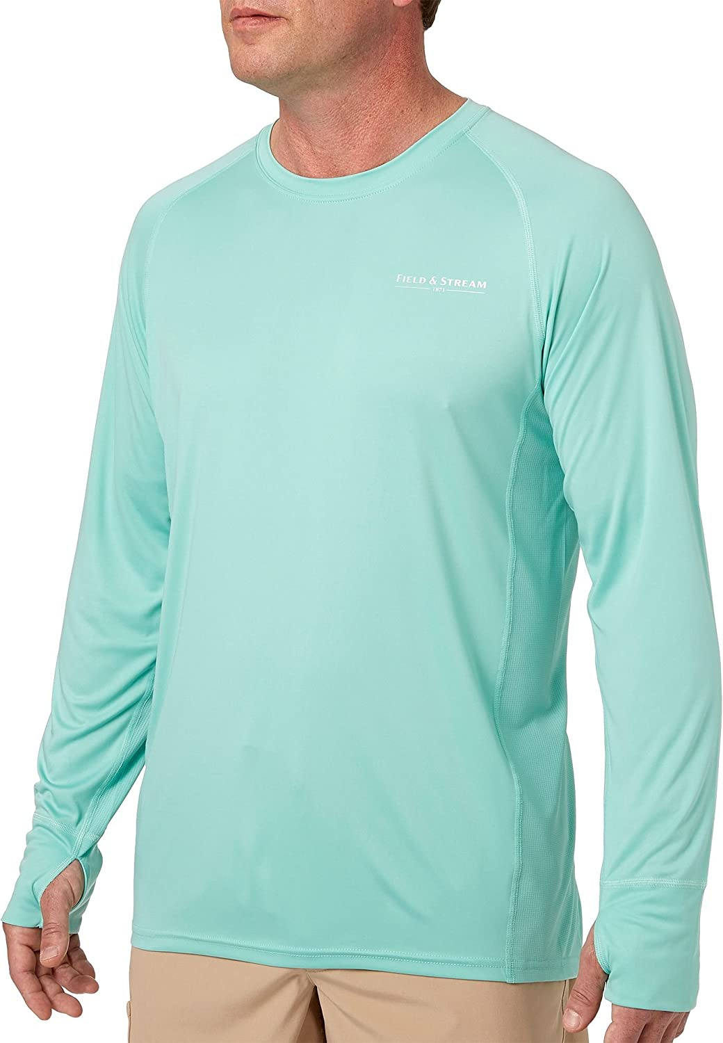 14be82abee301 Amazon.com  Field   Stream Men s Evershade Tech T-Shirt  Sports   Outdoors