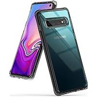 Capa Capinha Galaxy S10 (6.1) Ringke Fusion Case Original (Fume-Preto)