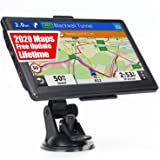 GPS Navigation for Truck & RV & Car, 7 Inch OHREX GPS Navigation System, GPS for Truck Drivers Commercial, 2020 Maps with Fre