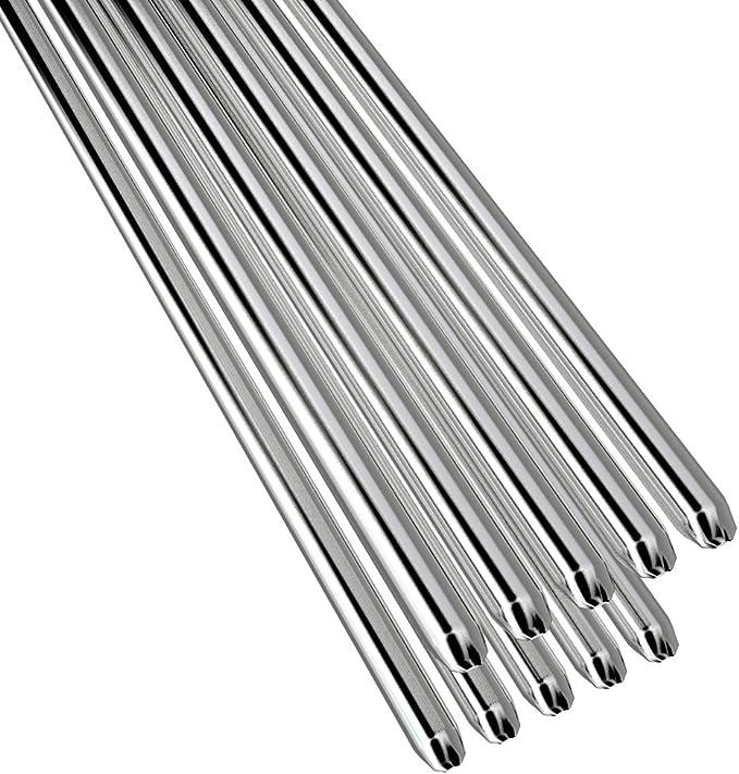 10-100Pcs Aluminum Solution Welding Flux-Cored Rod No Need Solder Powder 2*500MM
