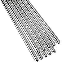 KKmoon 10PCS Low Temperature Aluminum Welding Wire Flux Cored 2mm*500mm Al-Mg Soldering Rod No Need Solder Powder