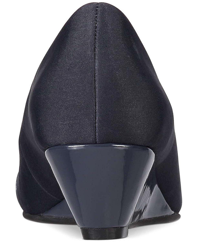 Alfani damen CHORDE Peep Toe Wedge Pumps 8.0 Ink Größe 8.0 Pumps b2ae6d