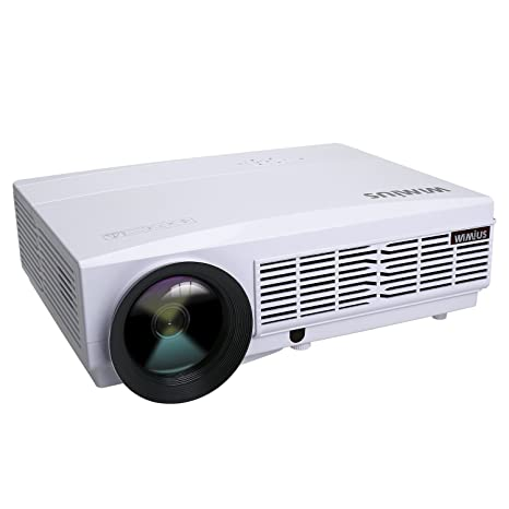 Proyectores HD, Proyector Portátil Videoproyector LED 800*480 ...