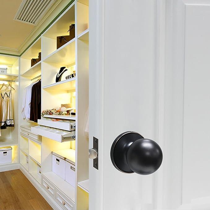 Amazon.com: Probrico interior redondo paso sin llave con ...