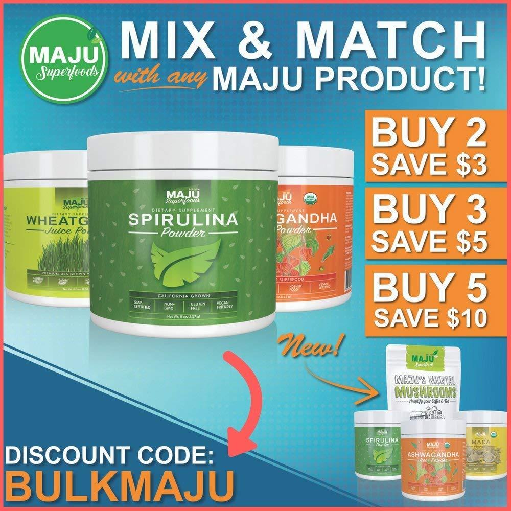 MAJU's Black Seed Oil: 3x% Thymoquinone, Cold Pressed, no Pesticides, 100%  Turkish Black Cumin