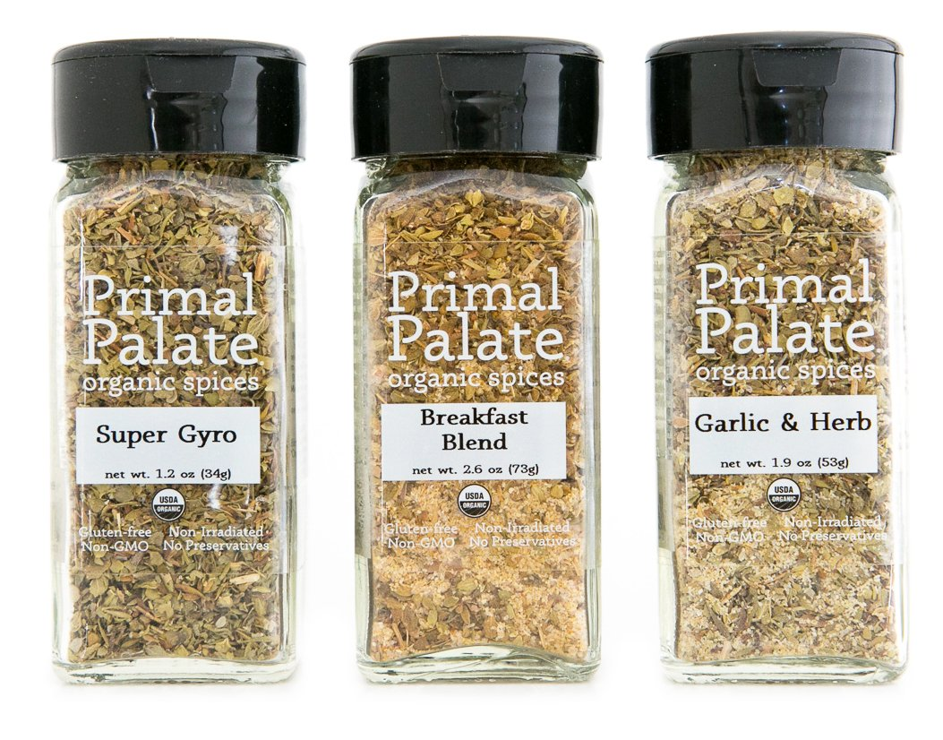 Primal Palate Organic Spices - Everyday AIP Blends 3-Bottle Gift Set by Primal Palate Organic Spices (Image #1)