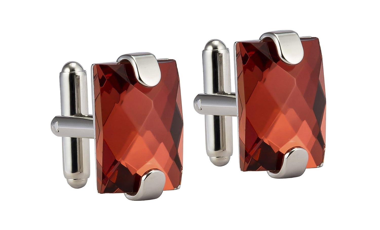 Amazon Com Knighthood Men S Red Semi Precious Stone With Clip