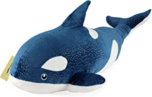 Koltose by Mash Orca Killer Whale Stuffed Animal, 18 inch Large Blue Killer Whale Toy, Orca Plush Toy for Kids, Whale Décor, Whale Pillow Toy Plushie