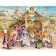 Vermont Christmas Company Joy to the World Advent Calendar