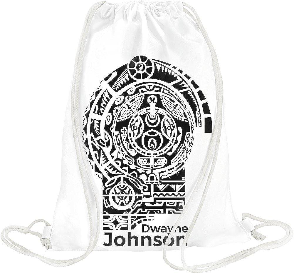 Dwayne Johnson Tattoo Bolsa con cordón: Amazon.es: Zapatos y ...