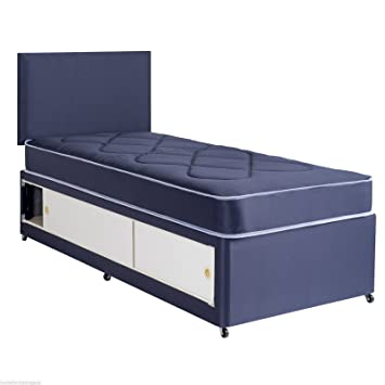info for f8b15 f82bf Hf4you Dallas Quilted Slider Storage Divan Bed - 2FT 6