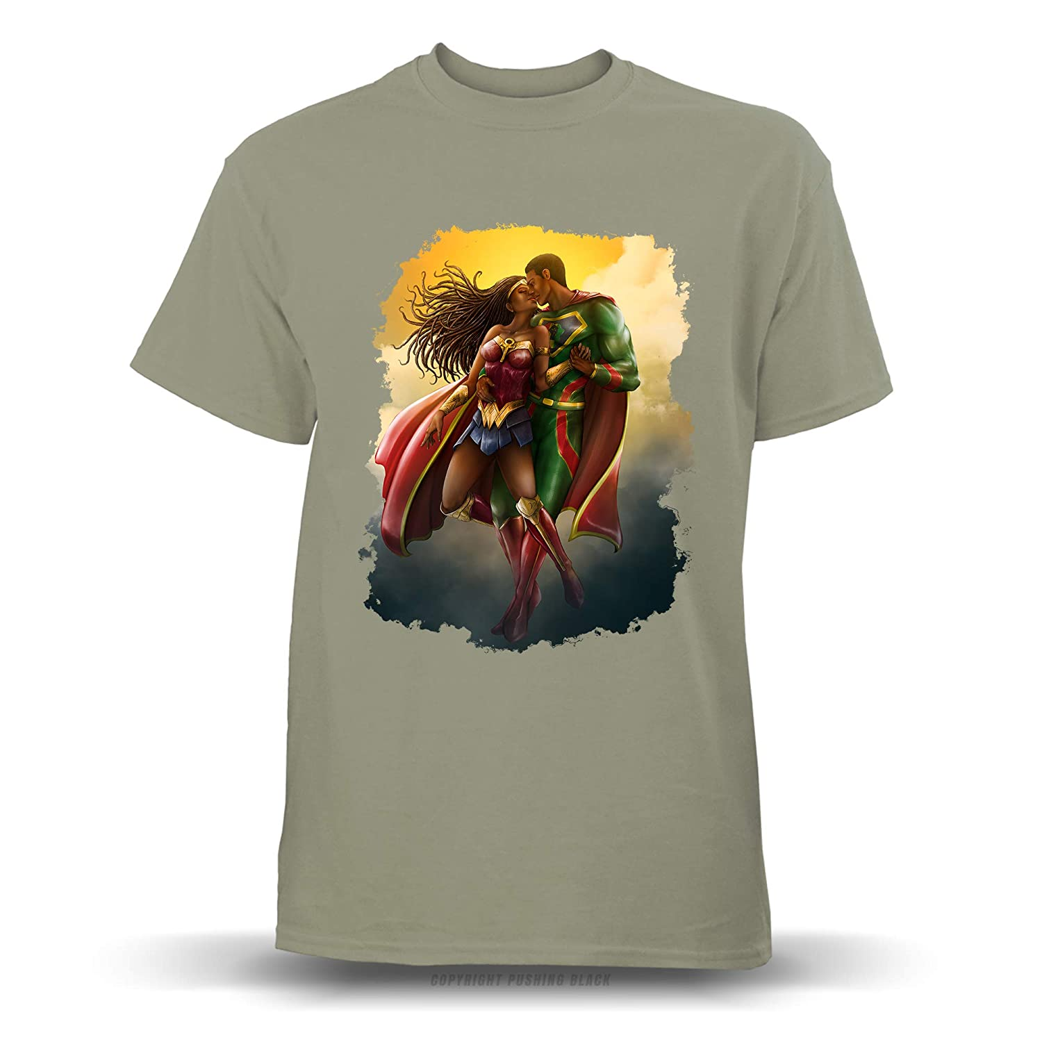 Hoodies Tank Tops and More Black Man of Strength and Black Woman of Wonder T-Shirts