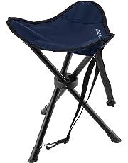 Taburete trípode OUTAD, taburete de tres patas ligero y plegable para acampadas, pesca, picnics, senderismo, fútbol, juegos, fotografía, jardinería, eventos deportivos