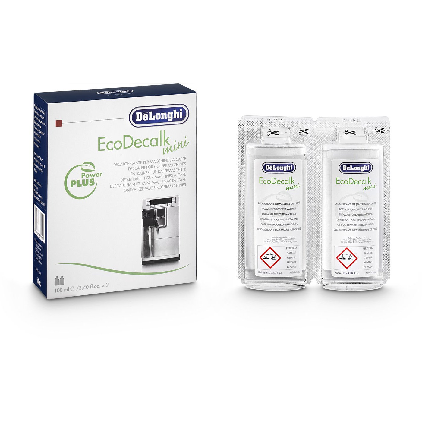 Amazon.com: DeLonghi Eco 3.4 Ounce Mini Descaler, 8 Count: Kitchen & Dining