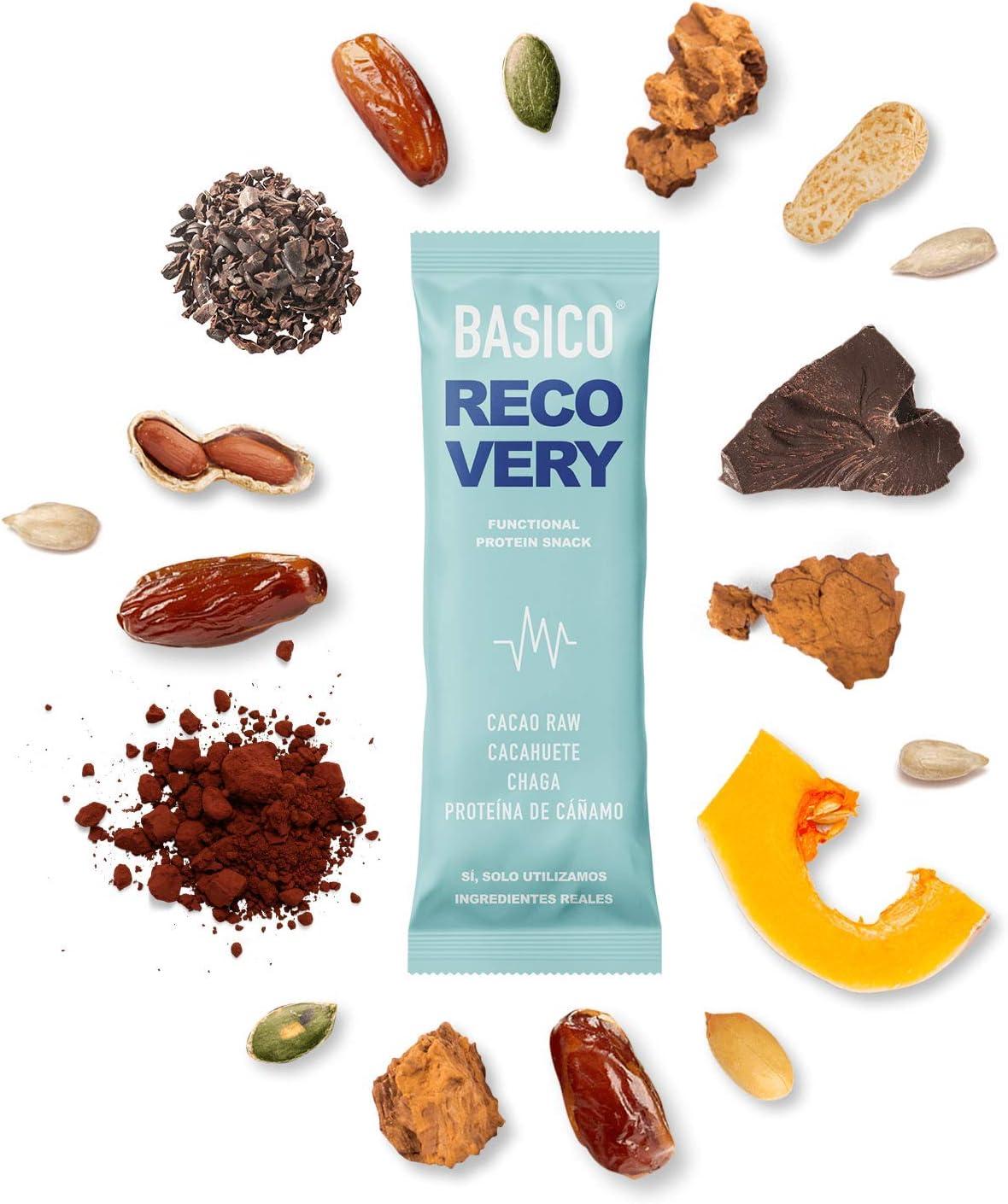 BARRITAS DE PROTEÍNA Basico Foods. Snack Energético De Real Food Para Deportistas. Naturales, Ecológicas, Veganas, Sin Azúcar Añadido. Prueba Todas ...