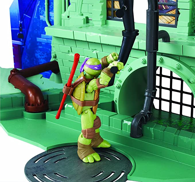 Amazon.com: Teenage Mutant Ninja Turtles Secret Sewer Lair ...