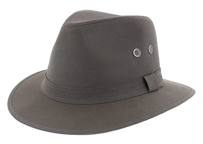 2acf6c2efdc Failsworth Wax Cotton Drifter Fedora  Amazon.co.uk  Clothing