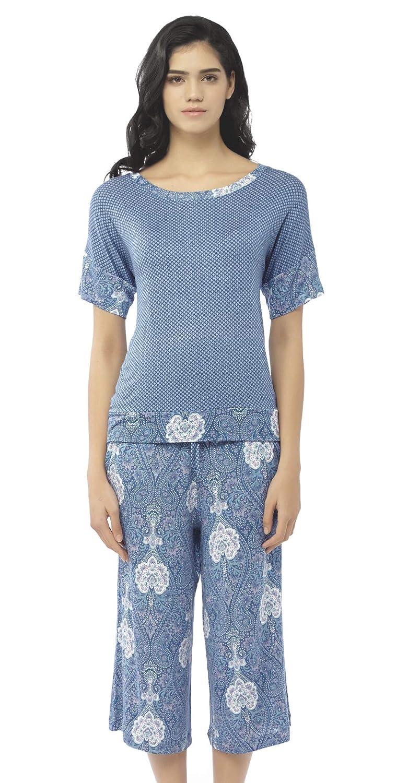743ea8c0a280 Summer Pajamas for Women - Stylish Print Ladies Pajama Set ...