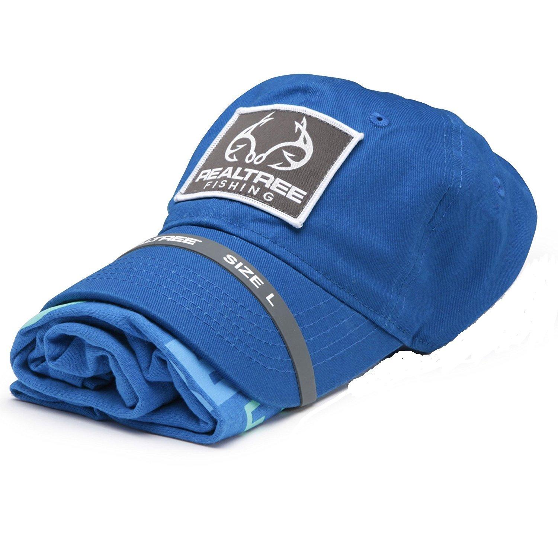 5decc7e53 Amazon.com   Realtree Men s Americana   Fishing -Hat   T-Shirt Combo Bundle  2-Pack Set   Clothing