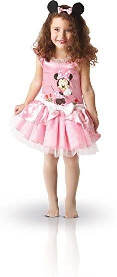 Rubies Disfraz infantil de bailarina con modelo de Minnie Mouse ...
