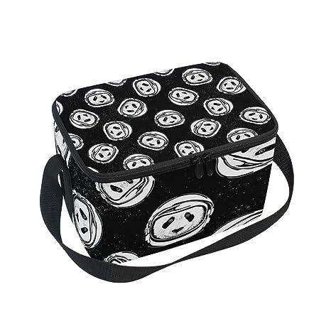 Amazon.com: Bolsa de almuerzo con aislante para comida ...