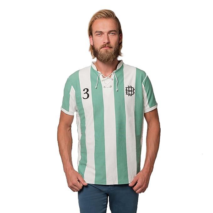 Coolligan 1907 Verdiblancos, Camiseta para Hombre, (Tamaño del Fabricante:XXL)