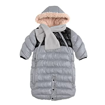 fc7d45a86a16 Amazon.com  7AM Enfant Doudoune One Piece Infant Snowsuit Bunting ...