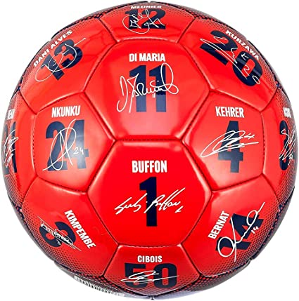 PSG - Balón de fútbol Oficial de Paris Saint-Germain Signatures ...