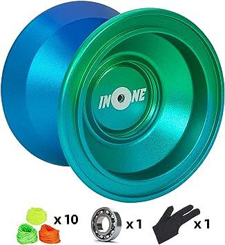 Amazon.com: Yoyos de aleación de aluminio de Yo-yos no ...