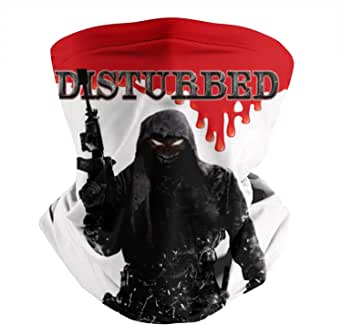 Face Bandanas for Dust Disturbed-Smiley-face-Nightmare-red ... |Disturbed Smiley Face