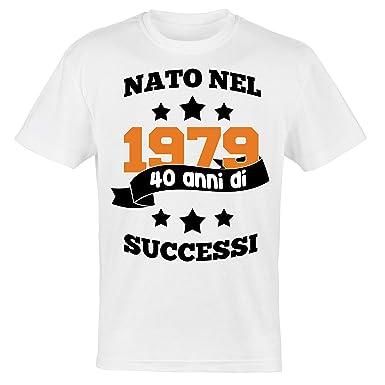 My Digital Print - Camiseta para Hombre cumpleaños 40 años ...