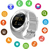 SEPVER Smart Watch SN05 Round Bluetooth Smartwatch with SIM Card Slot Compatible with Samsung LG Sony