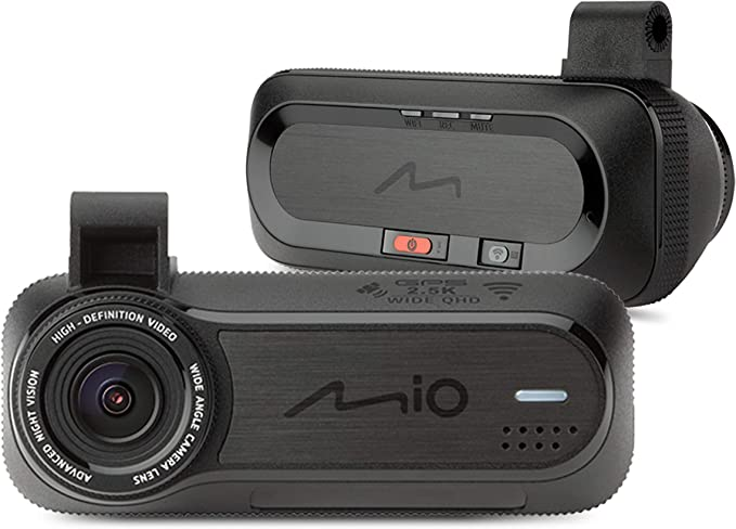 Mio Mivue J85 Dash Cam With Wi Fi And Security Camera Alerts Auto