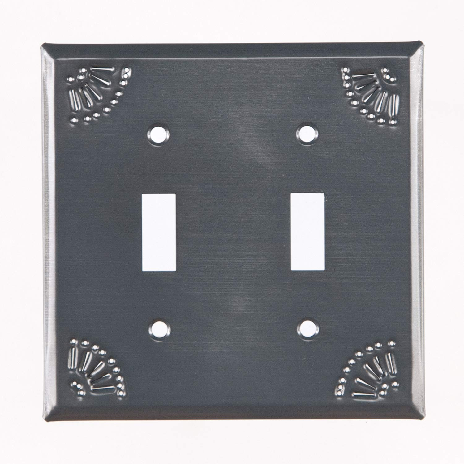 Pierced国Tin Tin Double Toggle Switch Plate Plate with Rustまたはアンティーク仕上げ 789DSRT Pierced国Tin B00DIIQI98 Country Tin Country Tin, こだわりの手しごと三春:f481bd01 --- gamenavi.club