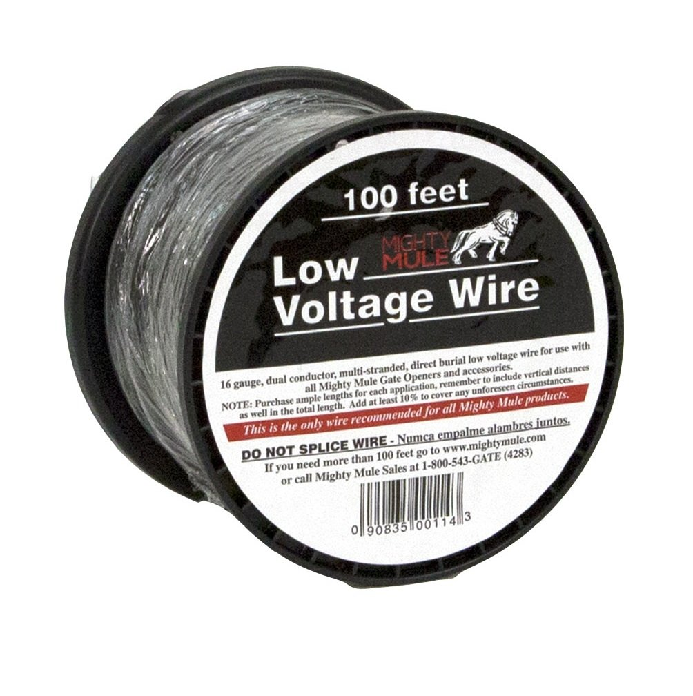 Mighty Mule 100 ft. Low Voltage 16 Gauge Wire (RB509-100) - Gate ...