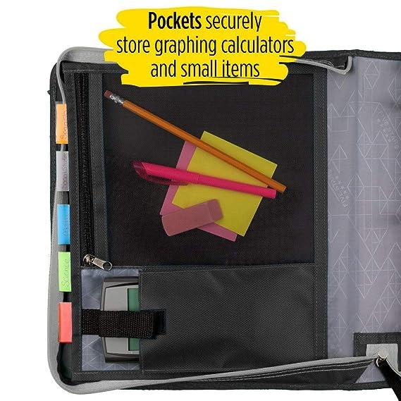 Amazon.com: Five Star - Carpeta con cremallera L: Office ...