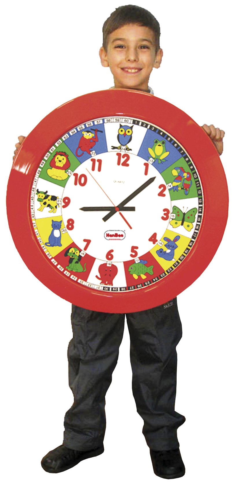 Eduplay Eduplay120127 Learning Mega Clock, 60 cm, Multi-Color
