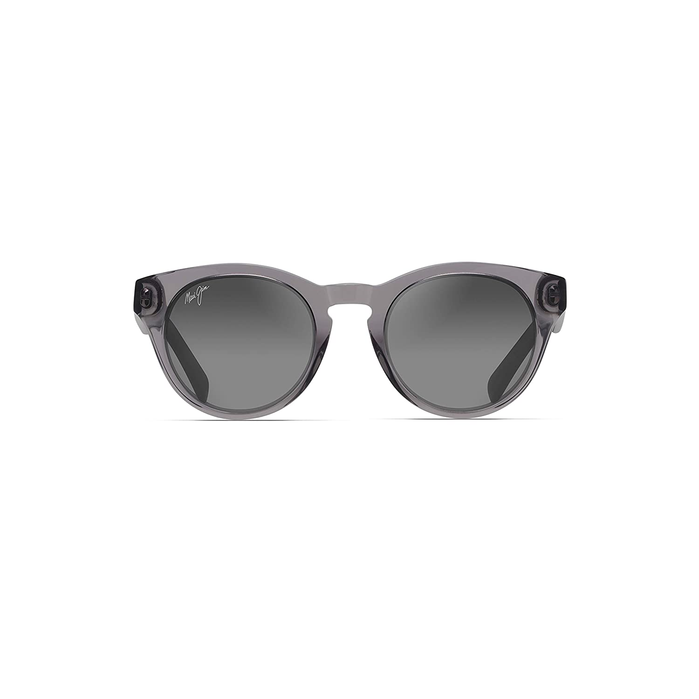 with Patented PolarizedPlus2 Lens Technology Maui Jim Dragonfly Polarized Translucent Grey Fashion Frame Sunglasses