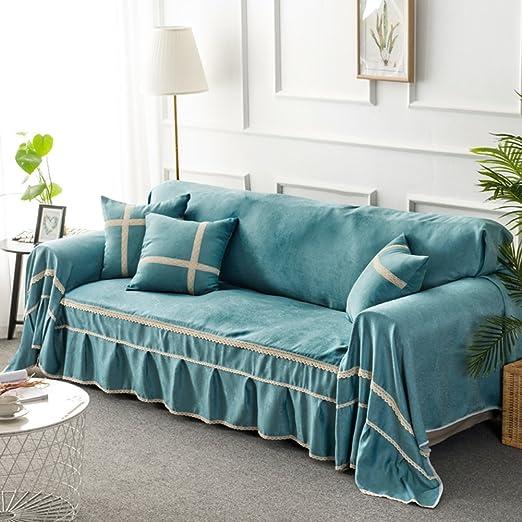 Amazon.com: Surefit Fabric Sofa slipcovers 3 Seater,European ...